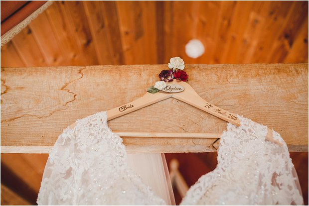 Lace Sleeves and Floral Crown Bride, South Farm Wedding: Charlene & Ian