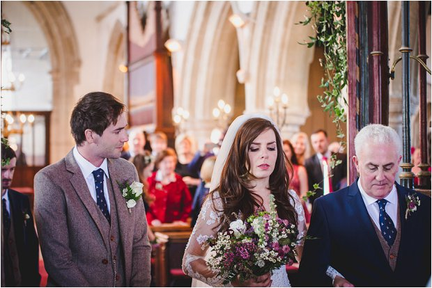Lace Sleeves and Floral Crown Bride South Farm Wedding Charlene & Ian_0089