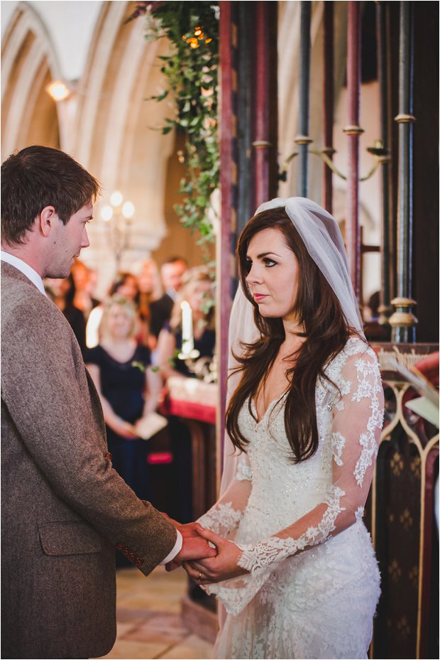 Lace Sleeves and Floral Crown Bride South Farm Wedding Charlene & Ian_0098