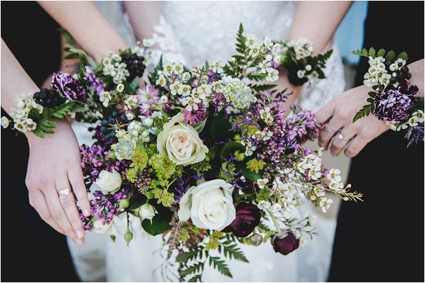 Lace Sleeves and Floral Crown Bride South Farm Wedding Charlene & Ian_0128