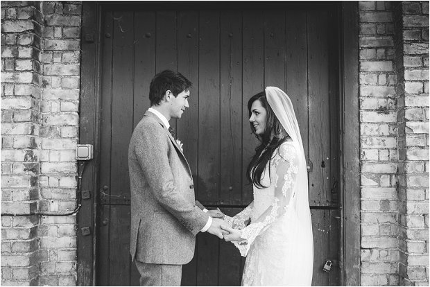 Lace Sleeves and Floral Crown Bride South Farm Wedding Charlene & Ian_0137
