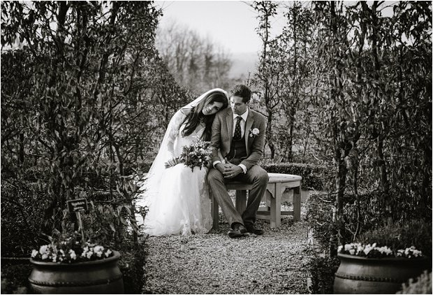 Lace Sleeves and Floral Crown Bride South Farm Wedding Charlene & Ian_0159