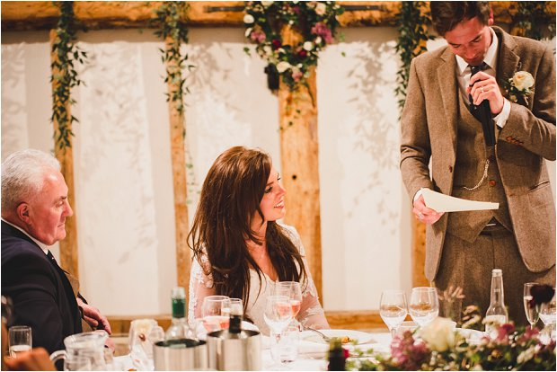 Lace Sleeves and Floral Crown Bride South Farm Wedding Charlene & Ian_0189