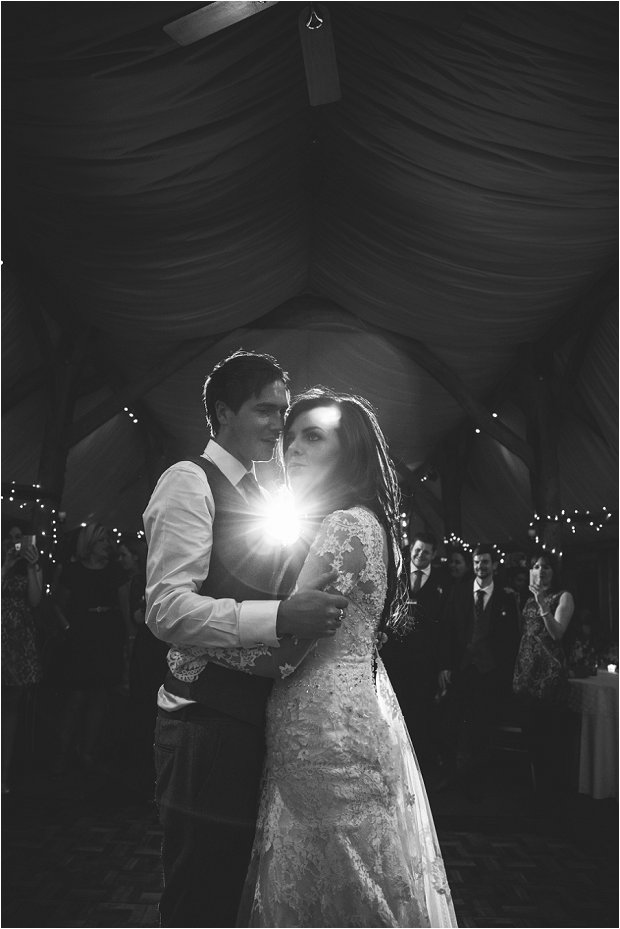 Lace Sleeves and Floral Crown Bride South Farm Wedding Charlene & Ian_0203