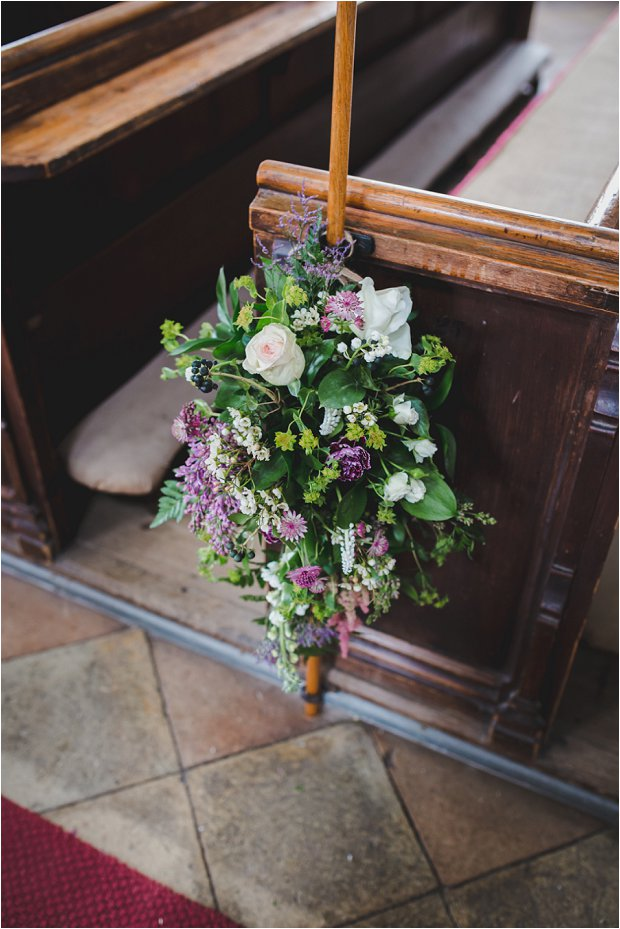 Lace Sleeves and Floral Crown Bride South Farm Wedding Charlene & Ian_0213