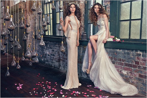 Michelle Keegan Wedding Dress Designer GALIA LAHAV Les Rêves Bohémiens COLLECTION_0000