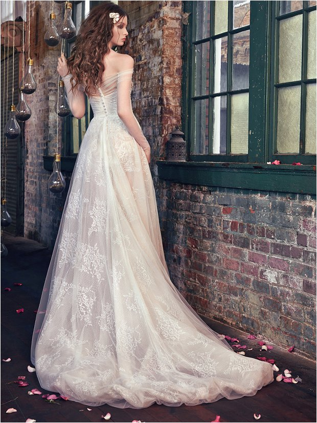 Michelle Keegan Wedding Dress Designer GALIA LAHAV Les Rêves Bohémiens COLLECTION_0001