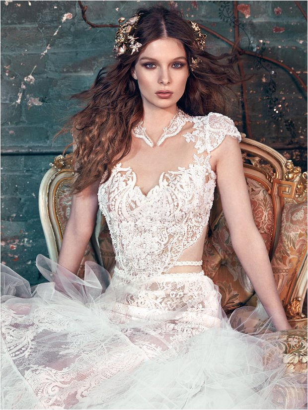Michelle Keegan Wedding Dress Designer: GALIA LAHAV Les Rêves ...