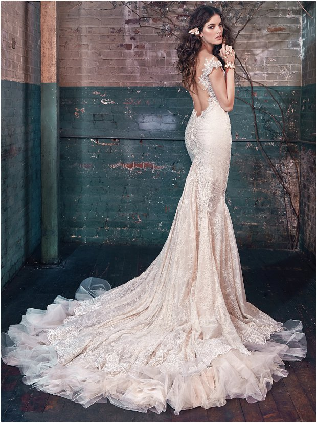 Michelle Keegan Wedding Dress Designer GALIA LAHAV Les Rêves Bohémiens COLLECTION_0005