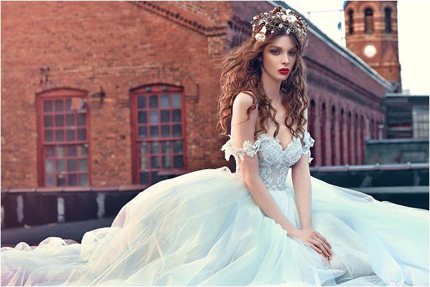 Michelle Keegan Wedding Dress Designer GALIA LAHAV Les Rêves Bohémiens COLLECTION_0008