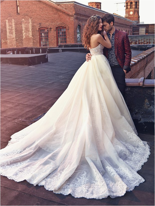 Michelle Keegan Wedding Dress Designer GALIA LAHAV Les Rêves Bohémiens COLLECTION_0009