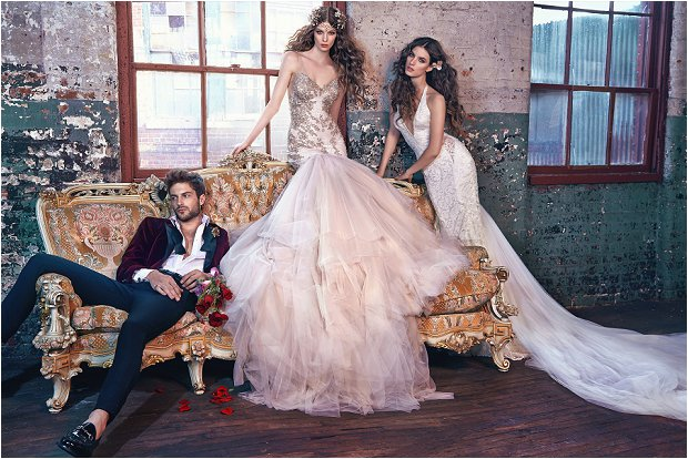 Michelle Keegan Wedding Dress Designer GALIA LAHAV Les Rêves Bohémiens COLLECTION_0013