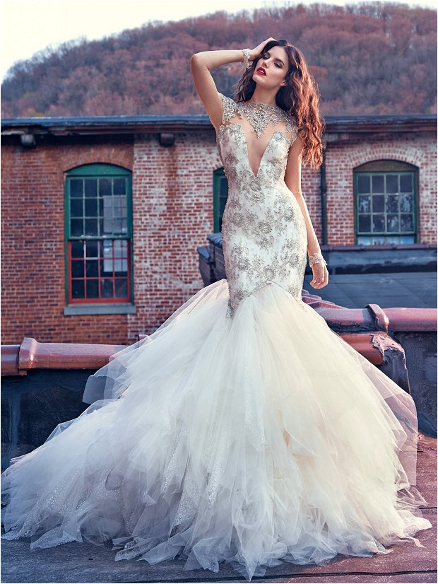 Michelle Keegan Wedding Dress Designer GALIA LAHAV Les Rêves Bohémiens COLLECTION_0016