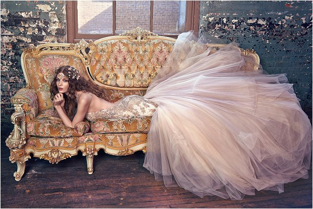 Michelle Keegan Wedding Dress Designer GALIA LAHAV Les Rêves Bohémiens COLLECTION_0021