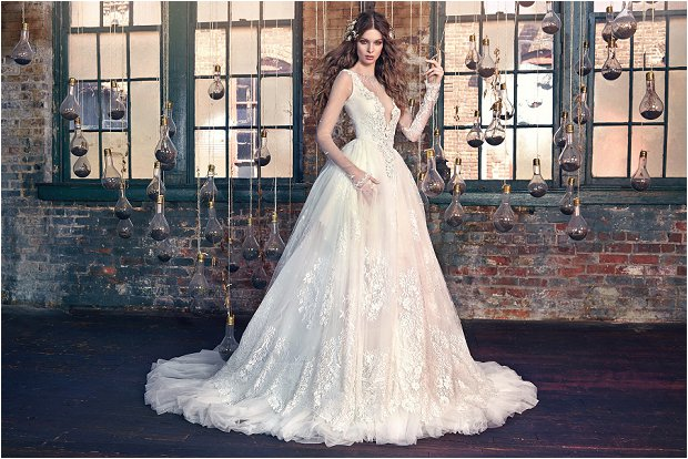 Michelle Keegan Wedding Dress Designer GALIA LAHAV Les Rêves Bohémiens COLLECTION_0026