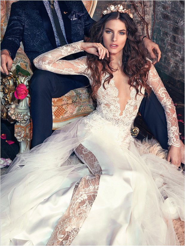 Michelle Keegan Wedding Dress Designer GALIA LAHAV Les Rêves Bohémiens COLLECTION_0028