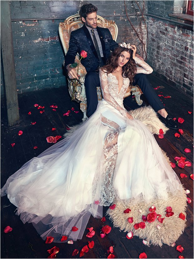 Michelle Keegan Wedding Dress Designer GALIA LAHAV Les Rêves Bohémiens COLLECTION_0029