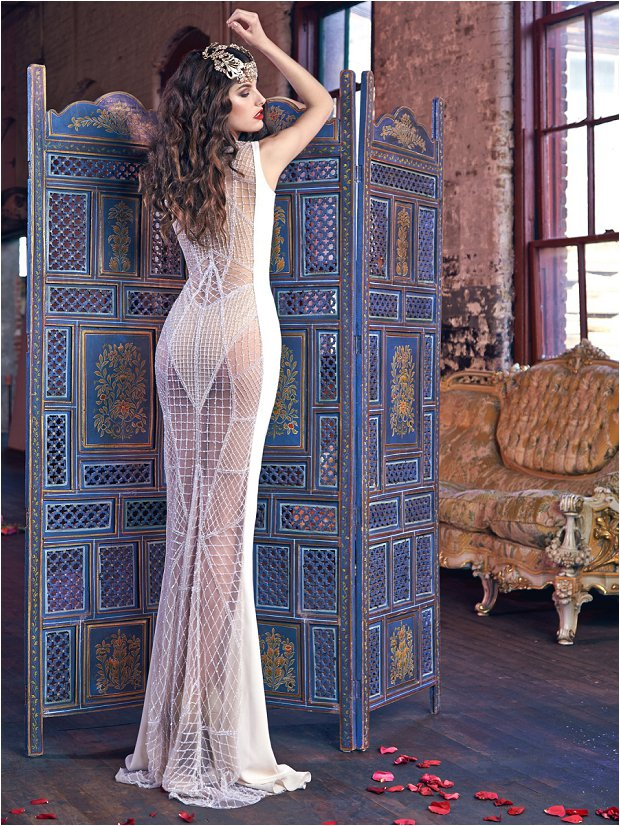 Michelle Keegan Wedding Dress Designer GALIA LAHAV Les Rêves Bohémiens COLLECTION_0030