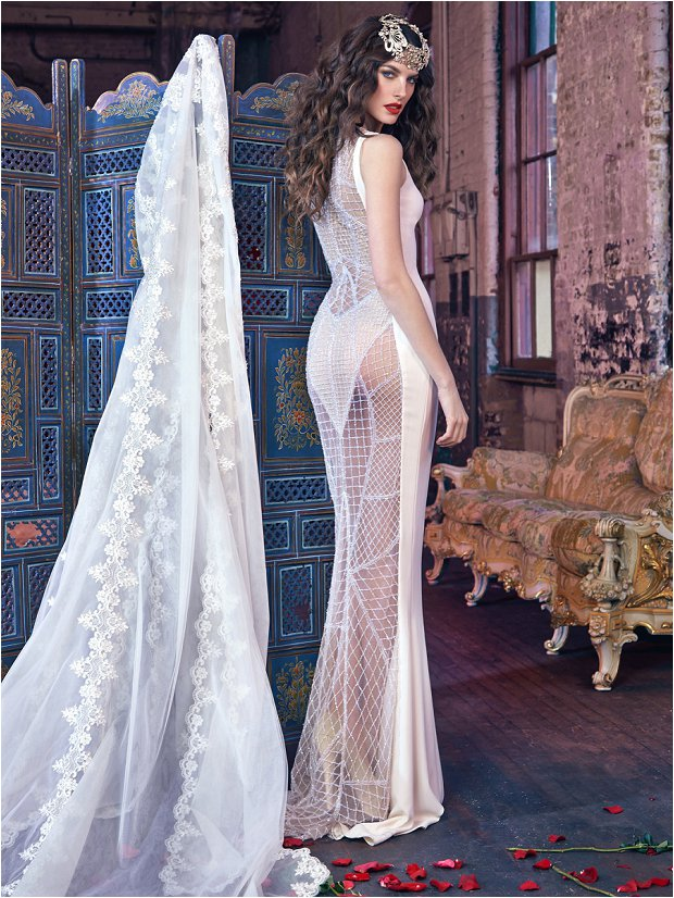 Michelle Keegan Wedding Dress Designer GALIA LAHAV Les Rêves Bohémiens COLLECTION_0031