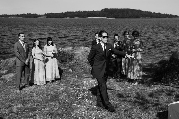Swedish Island Wedding 075