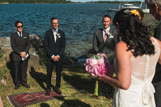 Swedish Island Wedding 077