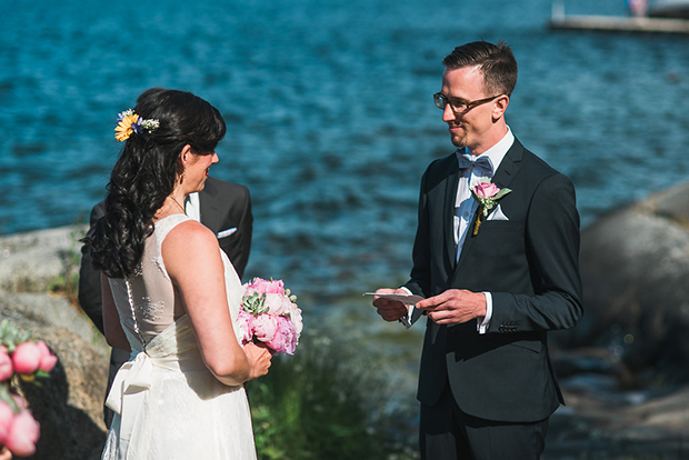 Swedish Island Wedding 087