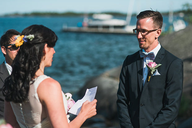Swedish Island Wedding 088