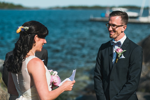 Swedish Island Wedding 089
