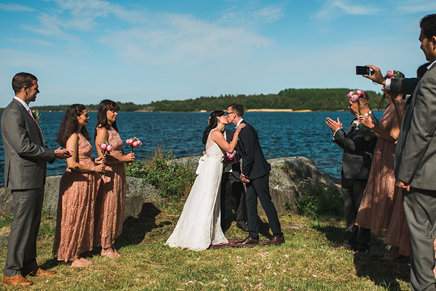 Swedish Island Wedding 090