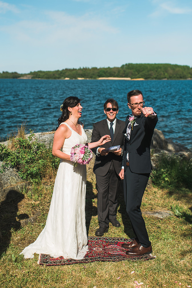 Swedish Island Wedding 096