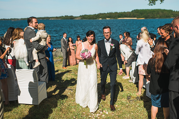Swedish Island Wedding 098