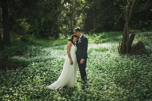 Swedish Island Wedding 107