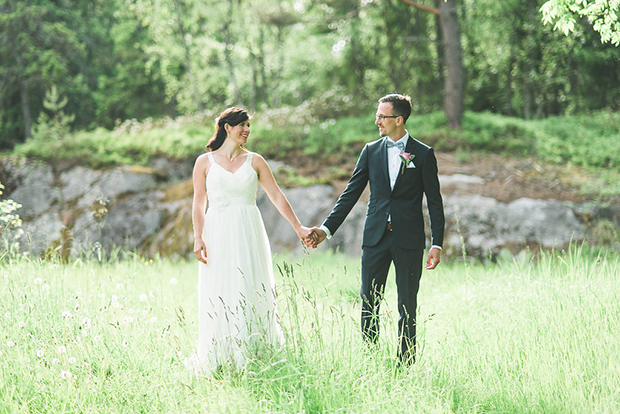 Swedish Island Wedding 108