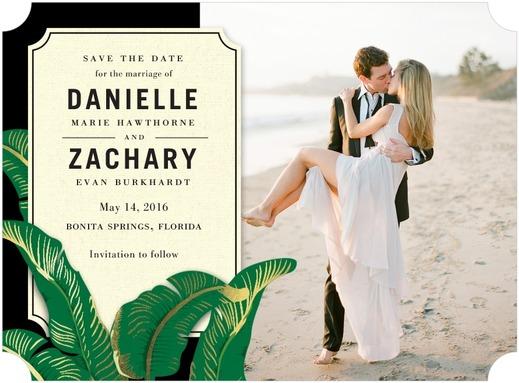 Stationery Trends: Shimmer & Shine by Wedding Paper Divas