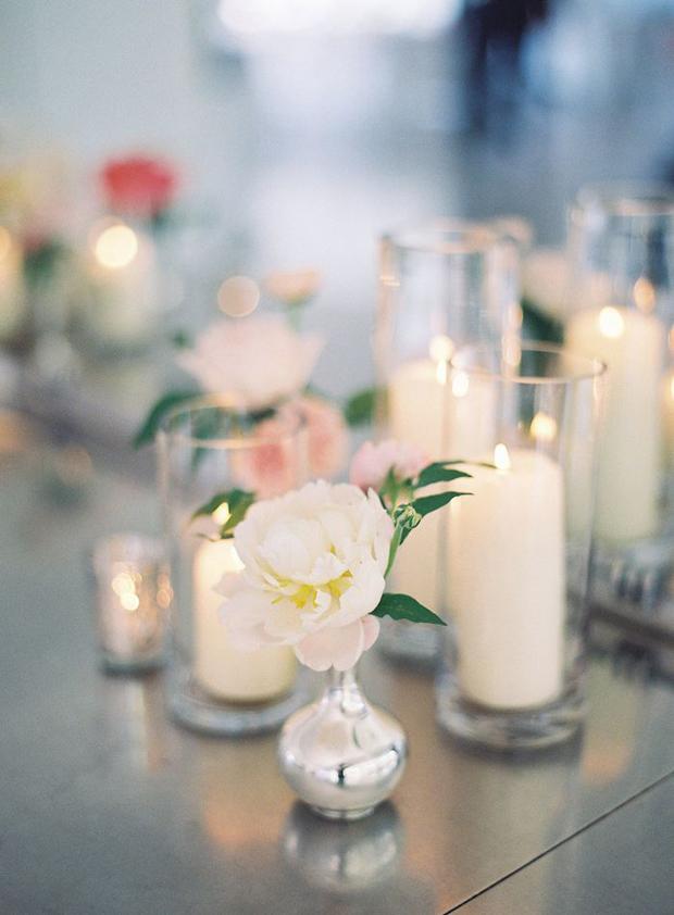 blush and slate grey wedding inspiration