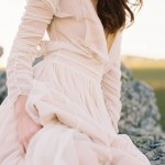 Rose Blush & Slate Grey wedding Inspiration: Wedding Colour Ideas