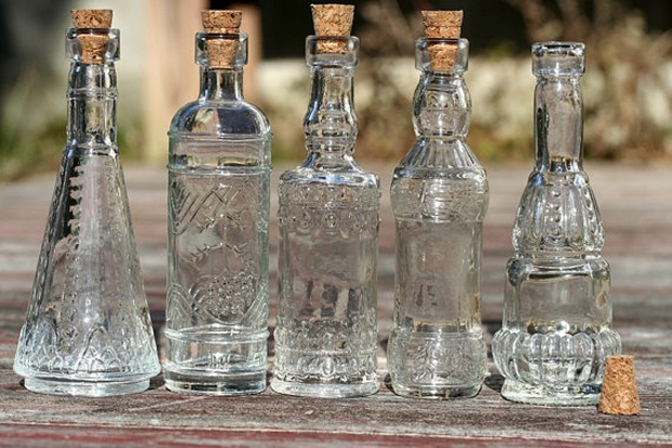 quirky wedding favour bottles