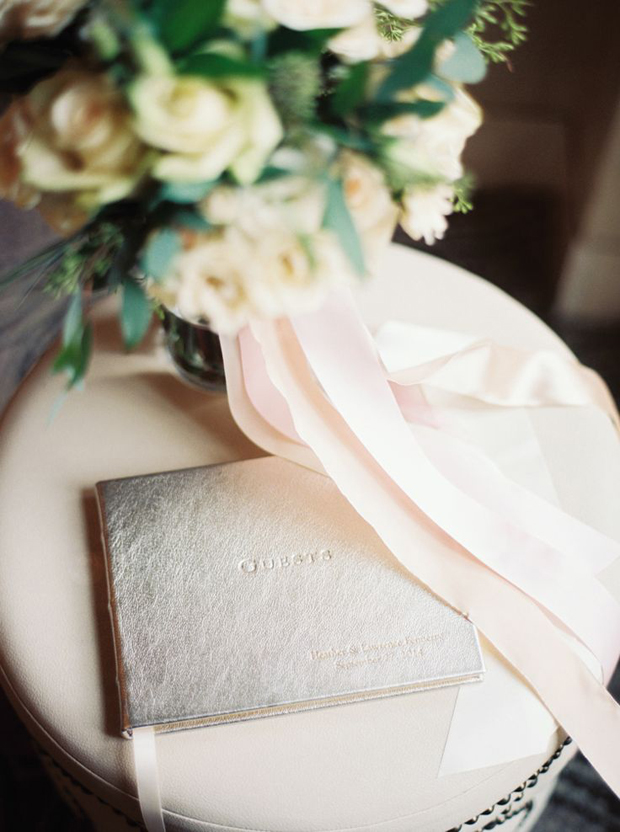 Organic Green, Silver Mercury & Blush Wedding Inspiration: Colour Ideas