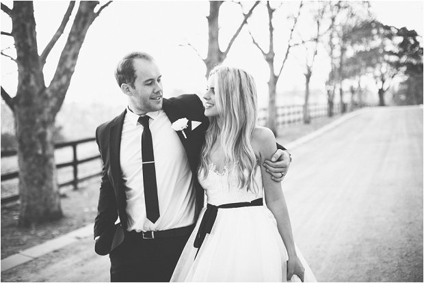 An All White Gorgeous Wedding With a Hint of Black: Richard & Anna