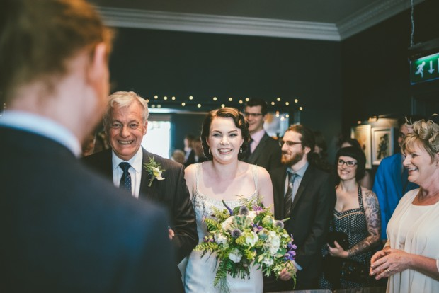 Beautiful Botanical Inspired Georgian Town House Wedding Adam & Kathryn (65)