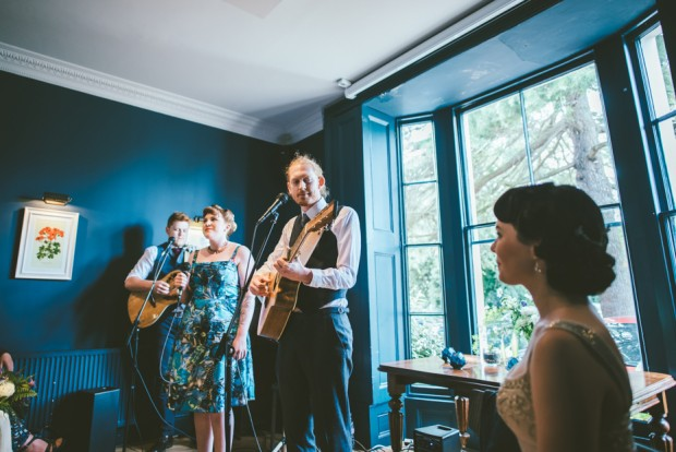 Beautiful Botanical Inspired Georgian Town House Wedding Adam & Kathryn (69)