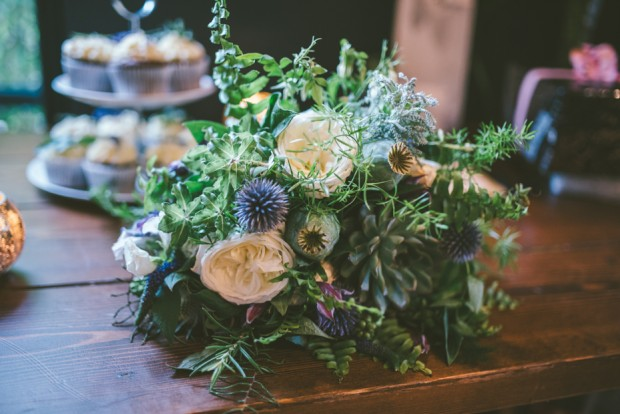 Beautiful Botanical Inspired Georgian Town House Wedding Adam & Kathryn (88)