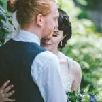 A Botanical 1930s Style, English Garden Inspired Wedding: Adam & Kathryn