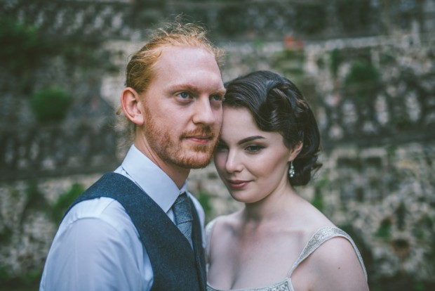 Beautiful Botanical Inspired Georgian Town House Wedding Adam & Kathryn (92)