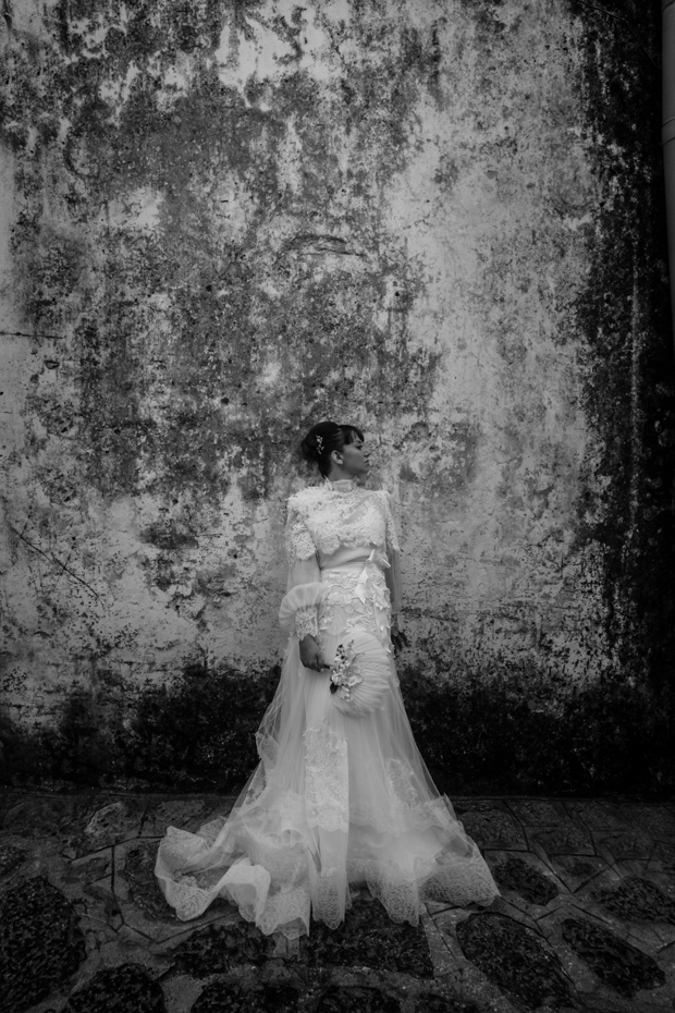Dramatic Italian Real Wedding & Yolan Cris Bride: Agnese & James