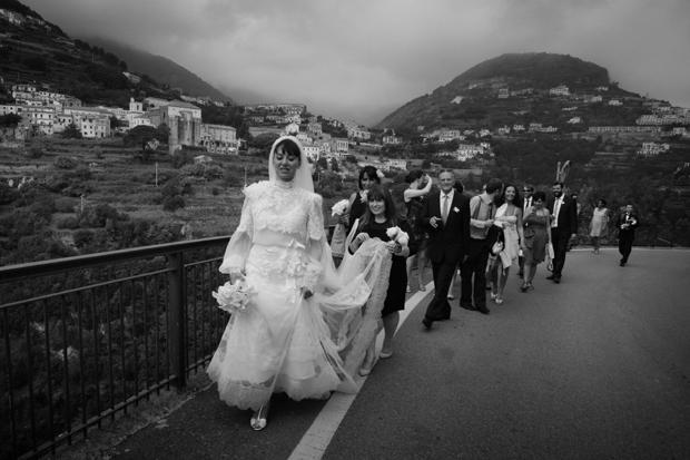 Dramatic Italian Affair Real Wedding Agnese & James (42)