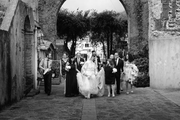 Dramatic Italian Affair Real Wedding Agnese & James (43)