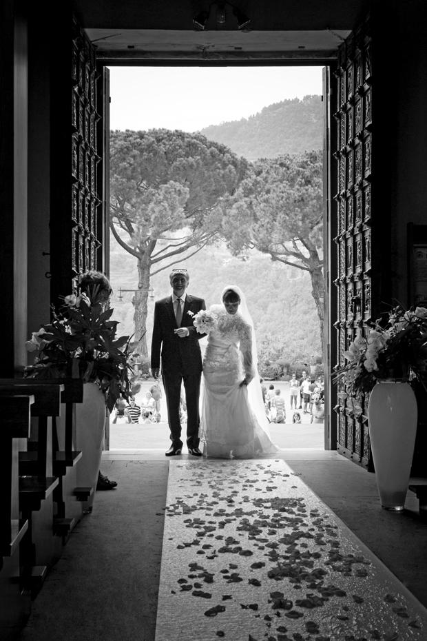 Dramatic Italian Affair Real Wedding Agnese & James (49)