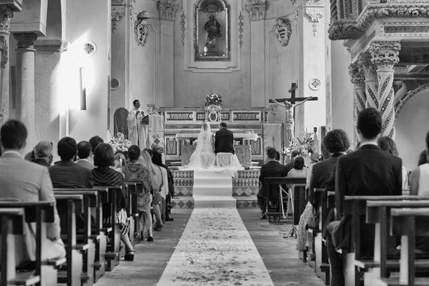 Dramatic Italian Affair Real Wedding Agnese & James (53)