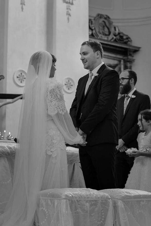 Dramatic Italian Affair Real Wedding Agnese & James (57)